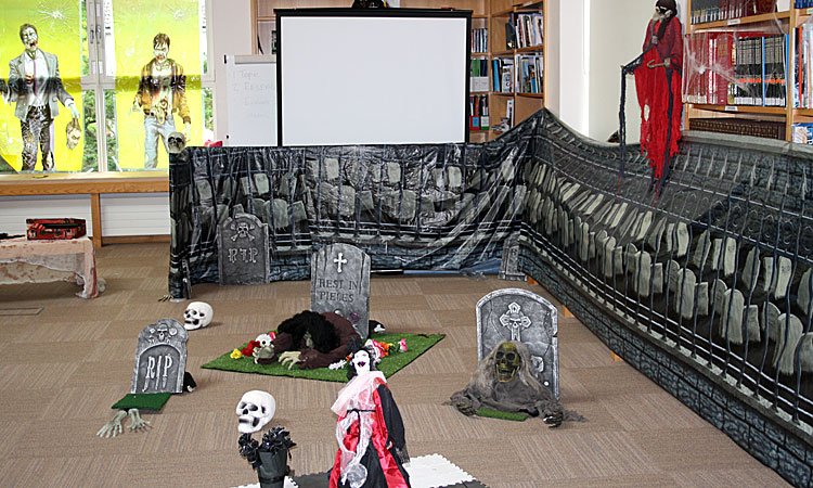 Halloween at Cluny Library
