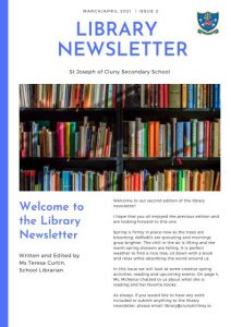 Library Newsletter cover #2