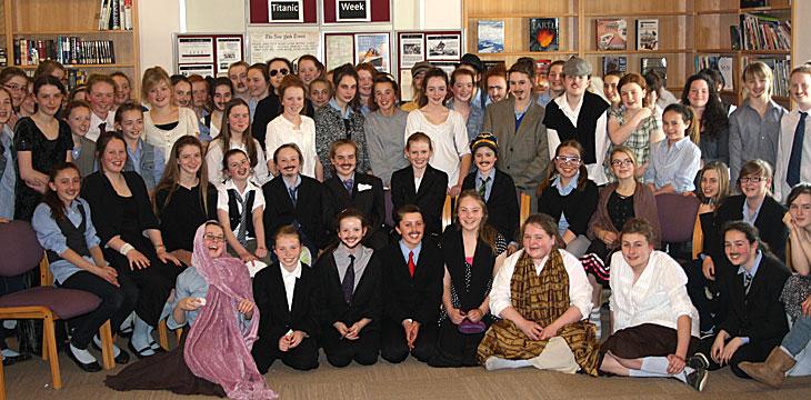 Titanic Presentation - April 2012 - 1st Yrs