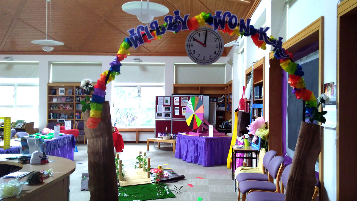Willy Wonka Week at St Joseph of Cluny library